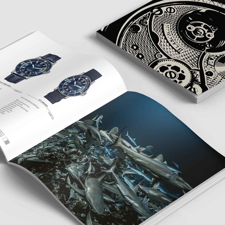 Catalogue de produits de la marque Blancpain