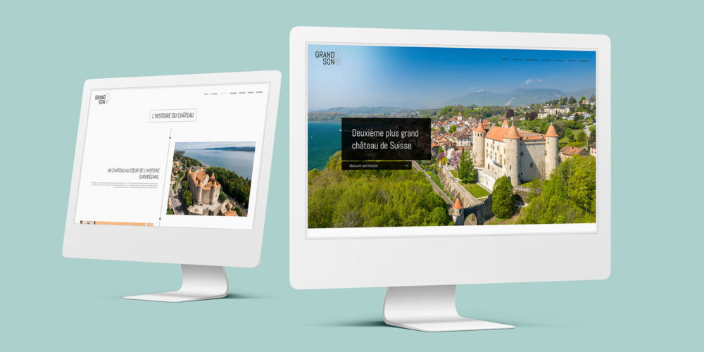 site internet du Chateau de Grandson