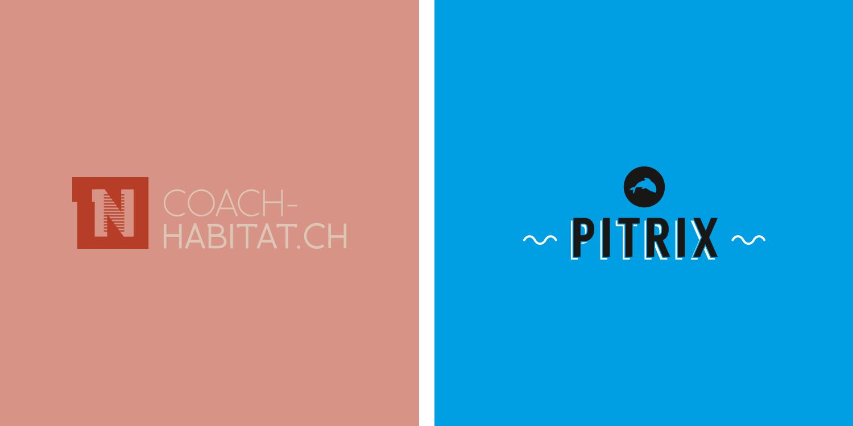 logos coach-habitat.ch et pitrix